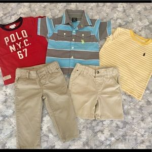 5-Piece Lot of Baby Boy Clothes *Size 18 Months*